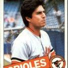 1985 Topps 366 Todd Cruz