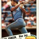 1985 Topps 4 Cliff Johnson RB