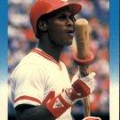 1987 Fleer 198 Eric Davis
