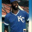 1987 Fleer 384 Willie Wilson