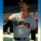 1987 Fleer Glossy 277 Mike LaCoss