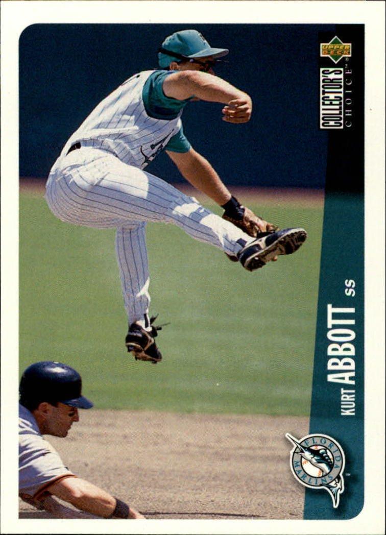 1996 Collector's Choice 154 Kurt Abbott