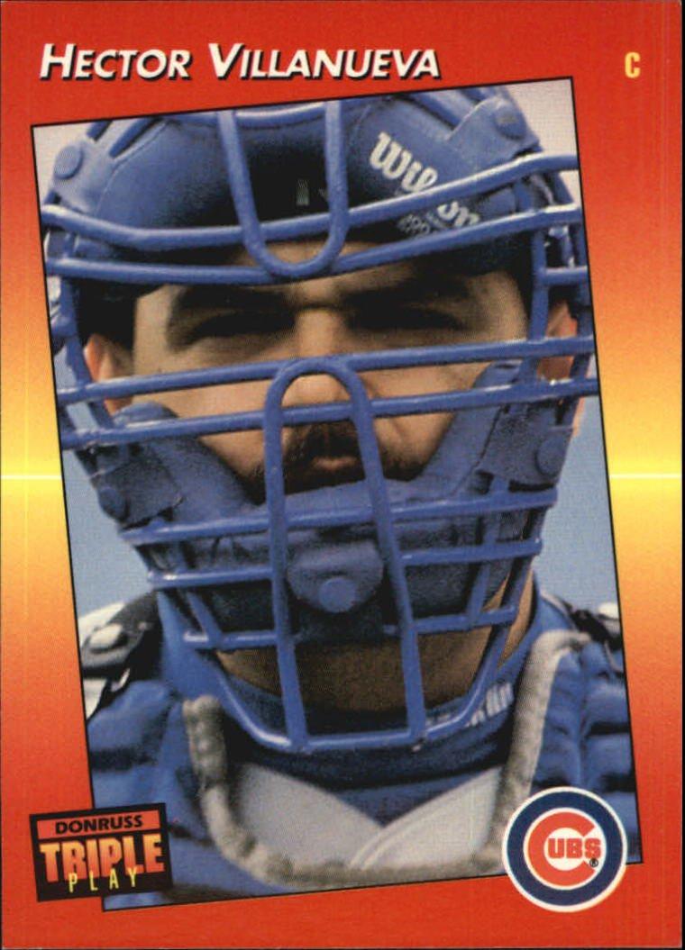1992 Triple Play 28 Hector Villanueva