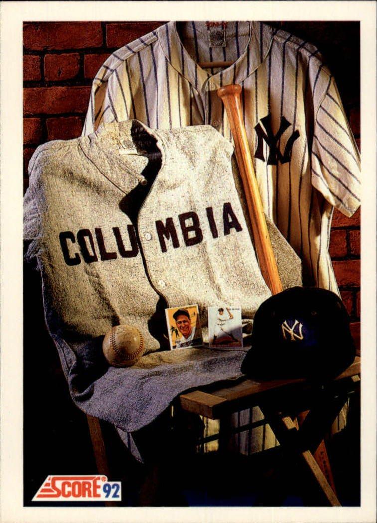 1992 Score 881 Lou Gehrig MEMO