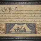 We the People cross stitch pattern by Willow Hill Samplings