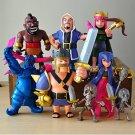 COC figures 12cm Supercell phone game model Dolls clash royale action figure 8pcs/lot