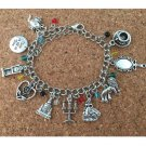 1pc a lot beauty and beast Charm Bracelet MEINSUD01