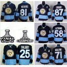 2017 Stanley Cup Finals Pittsburgh Penguins 81 Phil Kessel 87 Sidney Crosby 30 Matt Murray Black
