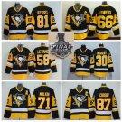 2017 Stanley Cup Finals Pittsburgh Penguins 71 Evgeni Malkin 87 Sidney Crosby 30 Matt Murray Black