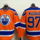 2016 World Cup Ice Hockey Jerseys Black Edmonton Oiler 97 Connor McDavid color orange