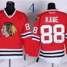 #19 Jonathan Toews Chicago Blackhawks Ice Hockey Jerseys color red