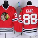 # 88 Patrick Kane Chicago Blackhawks Ice Hockey Jerseys color red