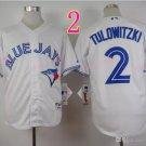 Top Quality ! Toronto Blue Jays Jersey Troy Tulowitzki #2 Jerseys while style 1