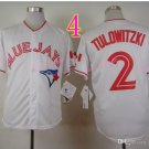 Top Quality ! Toronto Blue Jays Jersey Troy Tulowitzki #2 Jerseys while style2