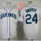 2015 Ken Griffey Jr Jersey Cool Base Seattle Mariners 1979 Turn Back retro white style 1