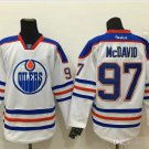 #97 Connor McDavid Edmonton Oilers Ice Hockey Third Mens Premier Stitched Jerseys style 3