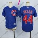 Chicago Cubs Jersey Kids  #44 Anthony Rizzo Jersey color blue