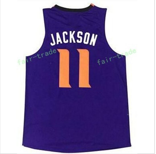 2017 New No.1 Draft Piack Josh Jackson #11  Jayson Tatum stitched Basketball Jerseys  purple