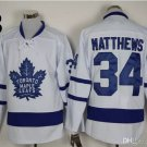 2016 Men Toronto Maple Leafs Ice Hockey Jerseys #34 Auston Matthews white Jersey