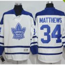 2017 Toronto Maple Leafs Jerseys 100th Anniversary 34 Auston Matthews  Hockey Jersey white style 2