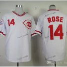 cincinnati reds #14 pete rose 2015 Baseball Jersey Rugby Jerseys Authentic Stitched color white