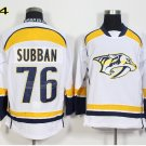 Hot Jerseys Nashville Ice Hockey 76 P.K. PK Subban  Team Color White