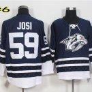 Hot Jerseys Nashville Ice Hockey 59 Roman Josi  Team Color Alternate Blue