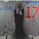 Chicago Cubs 17# Kris Bryant 2015 Baseball Jersey Rugby Jerseys Authentic Stitched style 3