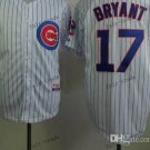 Chicago Cubs 17# Kris Bryant 2015 Baseball Jersey Rugby Jerseys Authentic Stitched style 4