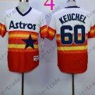 Hot Top Quality Jerseys Houston Astrosl #60 Dallas Keuchel  Rainbow Orange Jersey