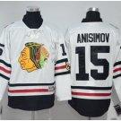 2017 Winter Classic Jerseys Chicago Blackhawks  #15 Artem Anisimov White Jersey