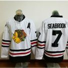 2017 Winter Classic Jerseys Chicago Blackhawks  Brent SEABROOK #7 White Jersey