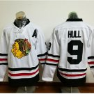 2017 Winter Classic Jerseys Chicago Blackhawks  9 Bobby Hull  White Jersey