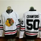 2017 Winter Classic Jerseys Chicago Blackhawks #50 CRAWFORD White Jersey