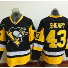 Pittsburgh Penguins 2017 Stanley Cup Finals patch #43 Conor Sheary  Stanley Cup Champions Jersey