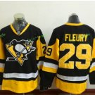 Pittsburgh Penguins 2017 Stanley Cup Finals patch 29# M. Fleury Stanley Cup Champions Jersey