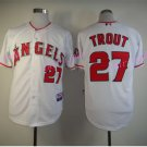 Los Angeles Angels 27 Mike Trout Jersey Flexbase LA Angels Mike Trout Baseball Jerseys white style 1