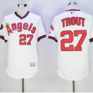Los Angeles Angels 27 Mike Trout Jersey Flexbase LA Angels Mike Trout Baseball Jerseys white style 3