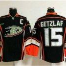 Anaheim Ducks 2017 Stanley Cup Finals patch Playoffs 15 Ryan Getzlaf Black  Hockey Jerseys