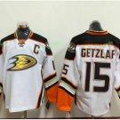Anaheim Ducks 2017 Stanley Cup Finals patch Playoffs 15 Ryan Getzlaf White Hockey Jerseys