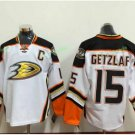 Anaheim Ducks 2017 Stanley Cup Champions patch Playoffs 15 Ryan Getzlaf White Hockey Jerseys
