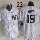 New York   #19 Masahiro Tanaka  2015 Baseball Jersey Rugby Jerseys Authentic Stitched