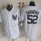 New York  #52 C.C. Sabathia 2015 Baseball Jersey Rugby Jerseys Authentic Stitched