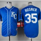 kansas city royals #35 eric hosmer 2015 Baseball Jersey Rugby Jerseys Authentic Stitched Blue 1