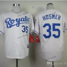 kansas city royals #35 eric hosmer 2015 Baseball Jersey Rugby Jerseys Authentic Stitched White 1