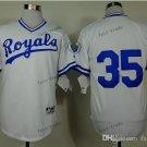 kansas city royals #35 eric hosmer 2015 Baseball Jersey Rugby Jerseys Authentic Stitched White 2