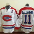 2016 New Montreal Canadiens #11 Brendan Gallagher White Stitched Hockey Jerseys Mix Orders
