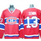 2016 New Montreal Canadiens #13 Alexander Semin Red Stitched Hockey Jerseys Mix Orders