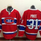 2016 New Montreal Canadiens #31 Carey Price Red Stitched Hockey Jerseys Mix Orders