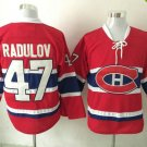 2016 New Montreal Canadiens #47 Alexander Radulov Red Stitched Hockey Jerseys Mix Orders